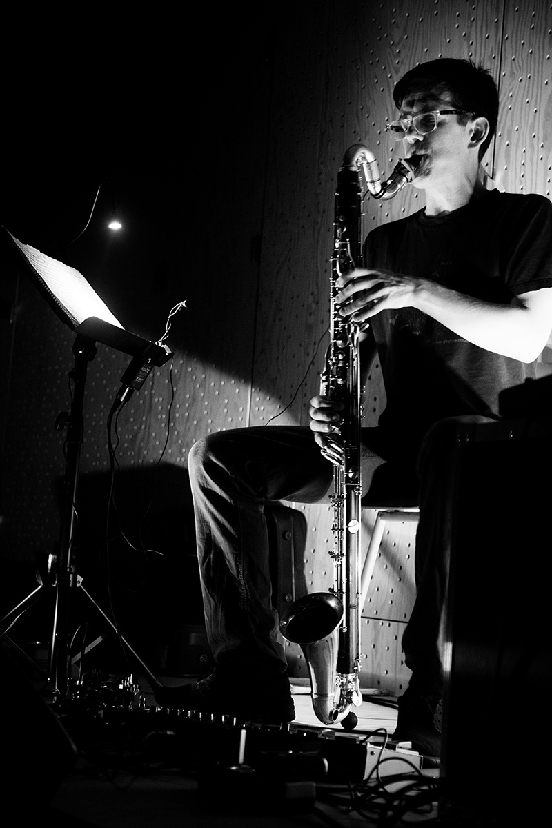 Ben Bertrand by Laurent Orseau - Concert - Les Ateliers Claus - Brussels, Belgium #3