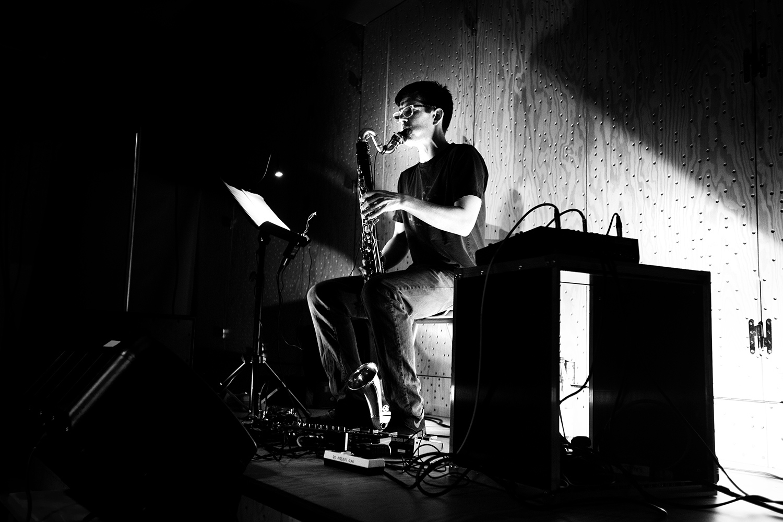 Ben Bertrand by Laurent Orseau - Concert - Les Ateliers Claus - Brussels, Belgium #6