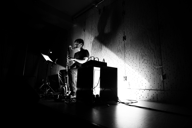 Ben Bertrand by Laurent Orseau - Concert - Les Ateliers Claus - Brussels, Belgium #7