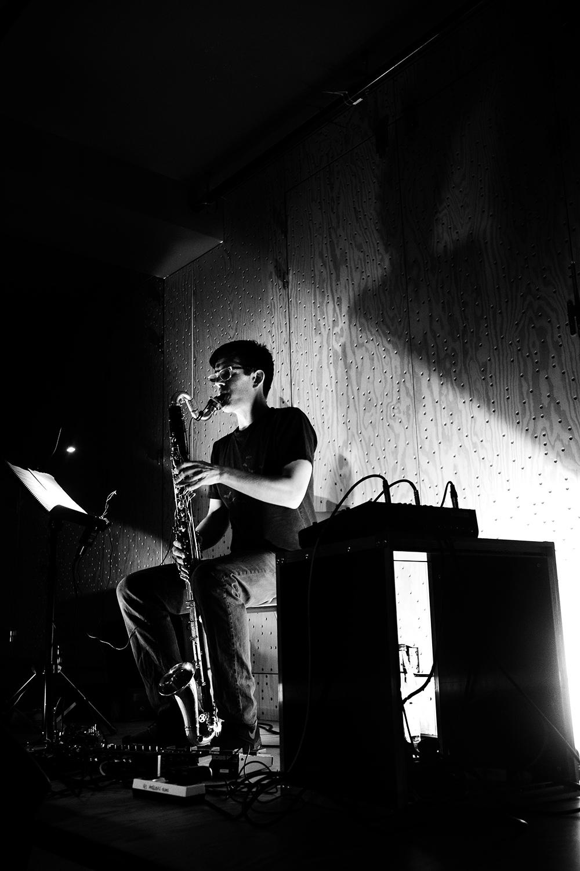 Ben Bertrand by Laurent Orseau - Concert - Les Ateliers Claus - Brussels, Belgium #8