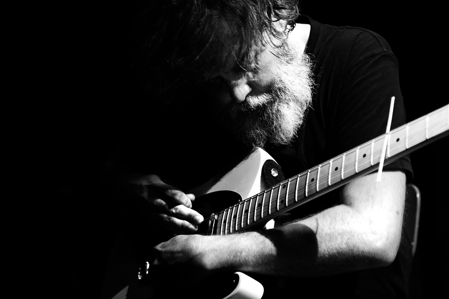 Bill Orcutt & Okkyung Lee by Laurent Orseau - Les Ateliers Claus - Brussels, Belgium #10