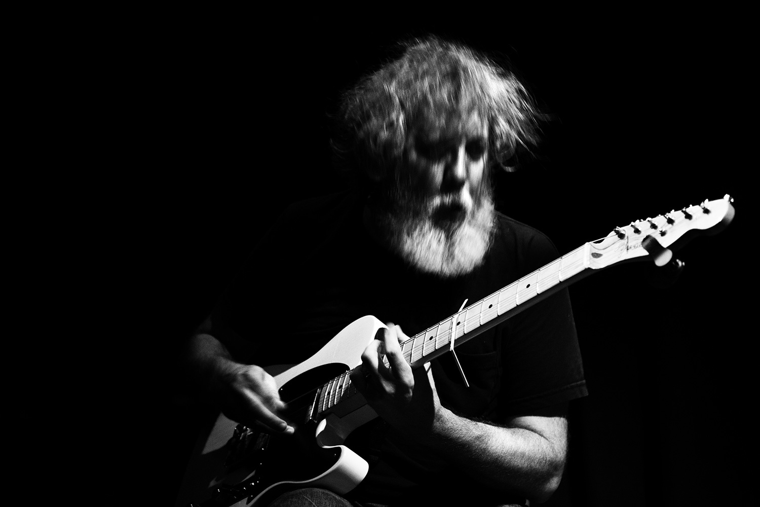 Bill Orcutt & Okkyung Lee by Laurent Orseau - Les Ateliers Claus - Brussels, Belgium #4