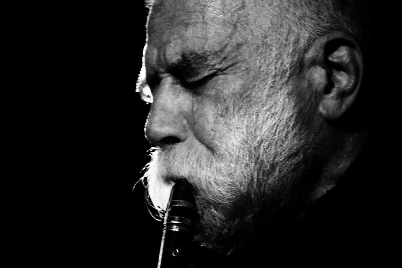Peter Brötzmann / Heather Leigh by Laurent Orseau - Meakusma Festival - Alter Schlachthof - Eupen, Belgium #10