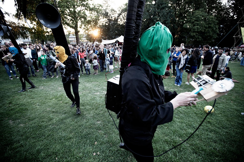 Bru(i)tal by Laurent Orseau - Forest Sounds Festival - Forest Park - Brussels, Belgium #10