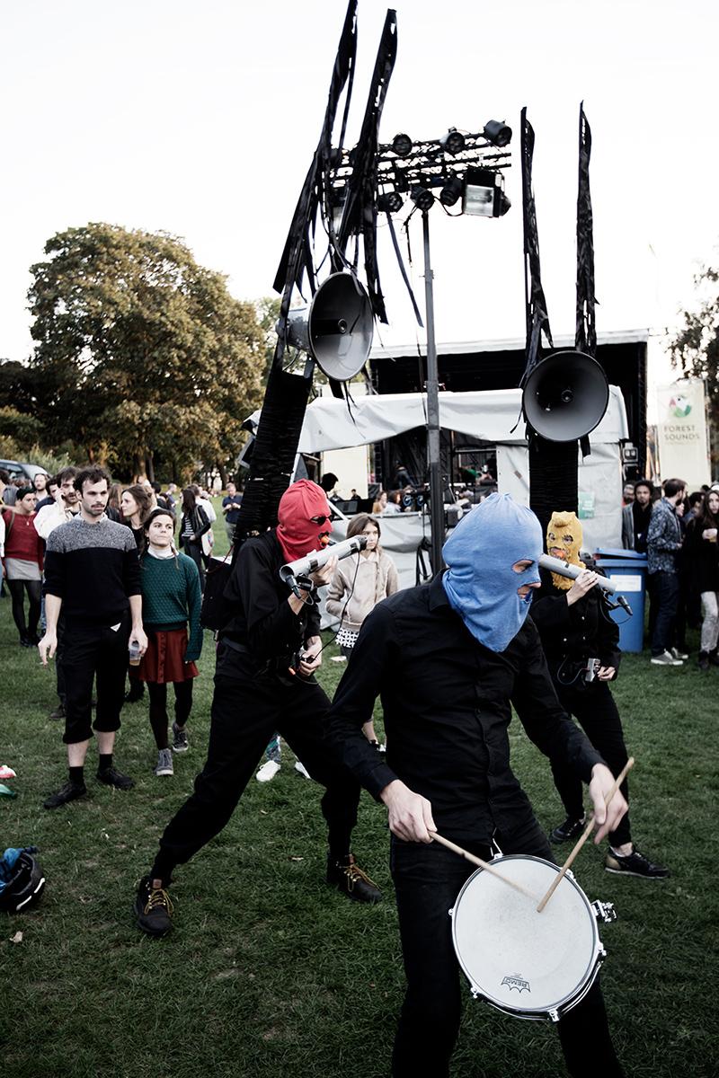Bru(i)tal by Laurent Orseau - Forest Sounds Festival - Forest Park - Brussels, Belgium #5