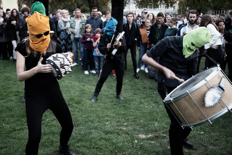 Bru(i)tal by Laurent Orseau - Forest Sounds Festival - Forest Park - Brussels, Belgium #6