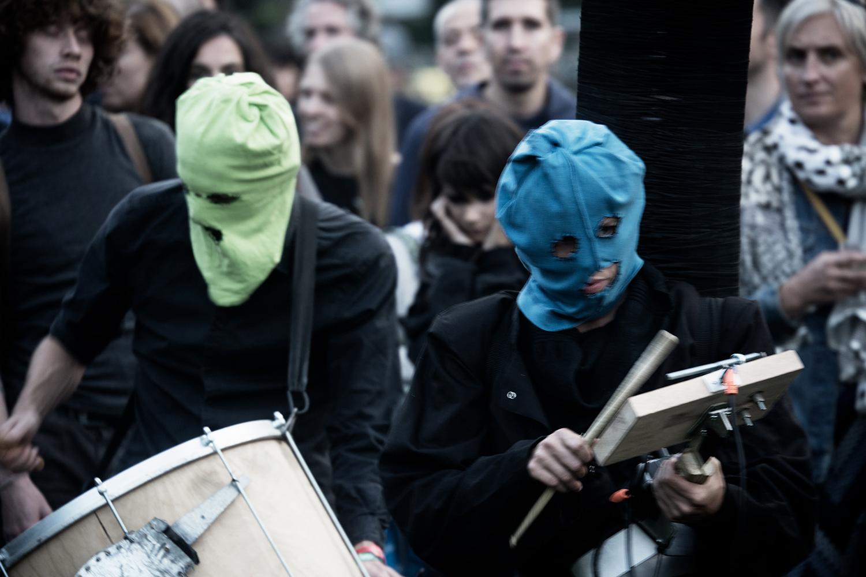 Bru(i)tal by Laurent Orseau - Forest Sounds Festival - Forest Park - Brussels, Belgium #7