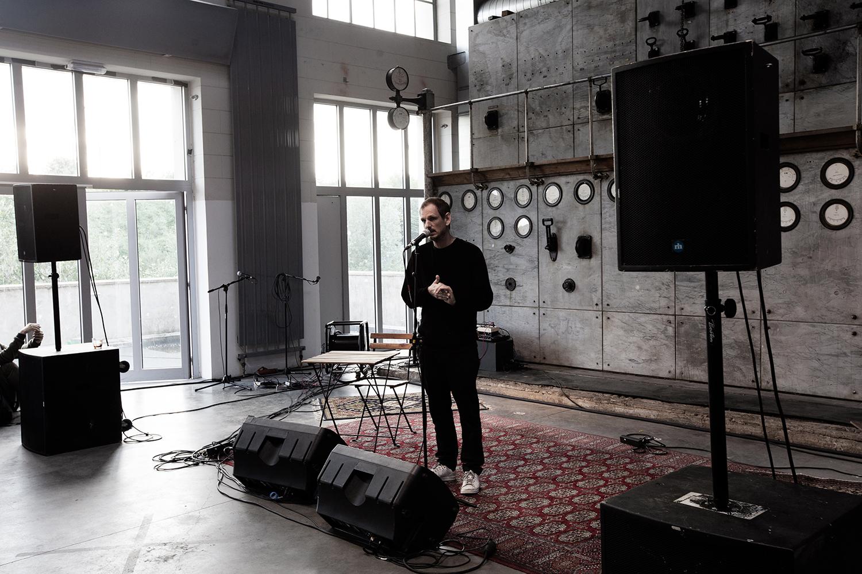 Cabane (séance d'écoute) by Laurent Orseau - Delicate Music Festival - BRASS - Brussels, Belgium #1