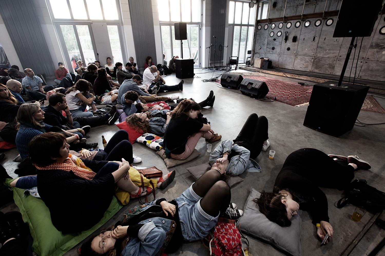 Cabane (séance d'écoute) - Delicate Music Festival - BRASS - Brussels, Belgium