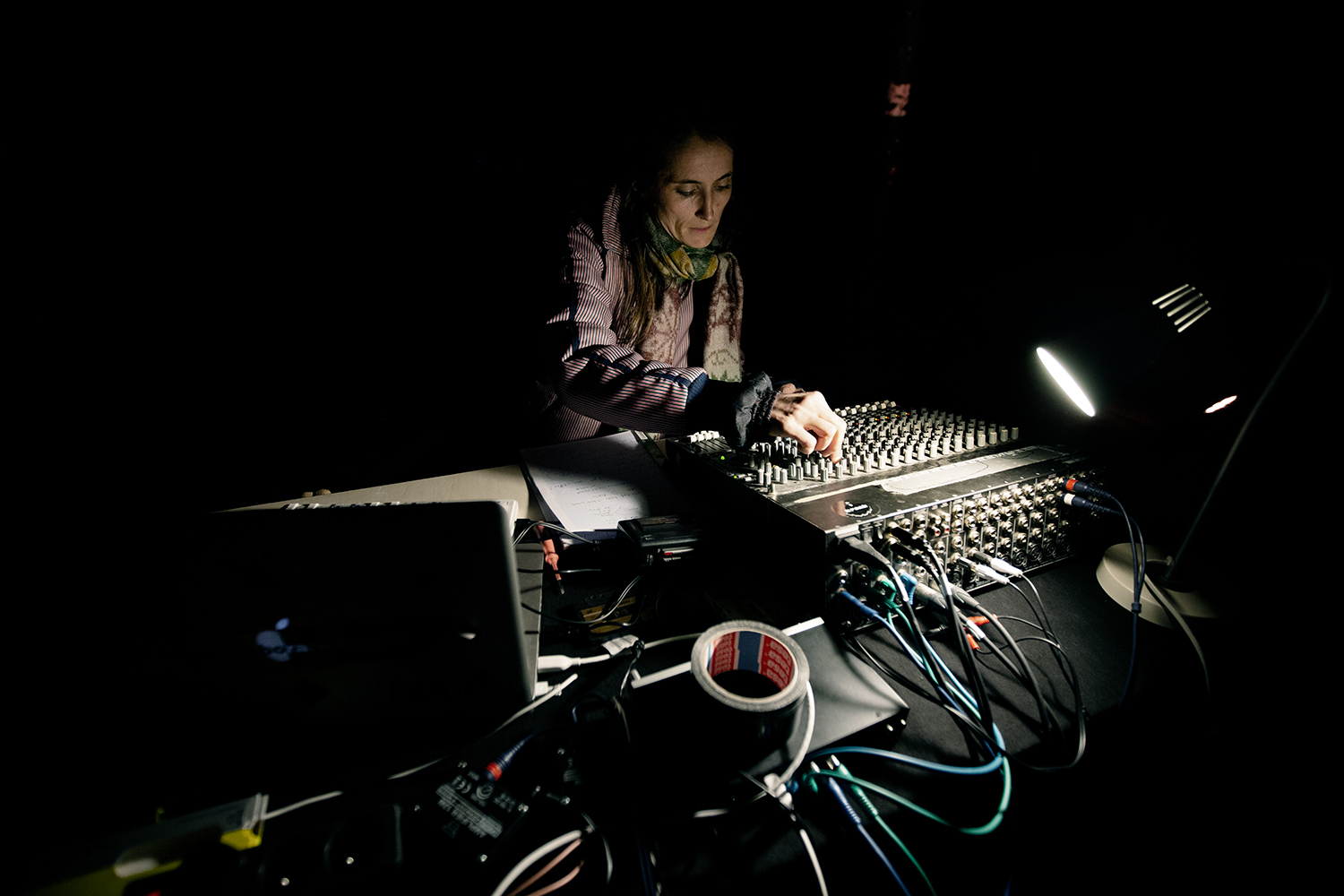 Caroline Profanter - KRAAK - Sonic Treatise - Greylight Projects Chapel - Brussels, Belgium