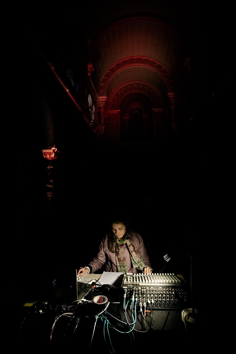Caroline Profanter by Laurent Orseau - KRAAK - Sonic Treatise - Greylight Projects Chapel - Brussels, Belgium #2