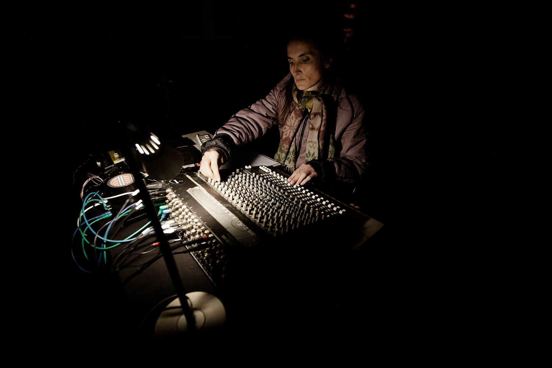 Caroline Profanter by Laurent Orseau - KRAAK - Sonic Treatise - Greylight Projects Chapel - Brussels, Belgium #5