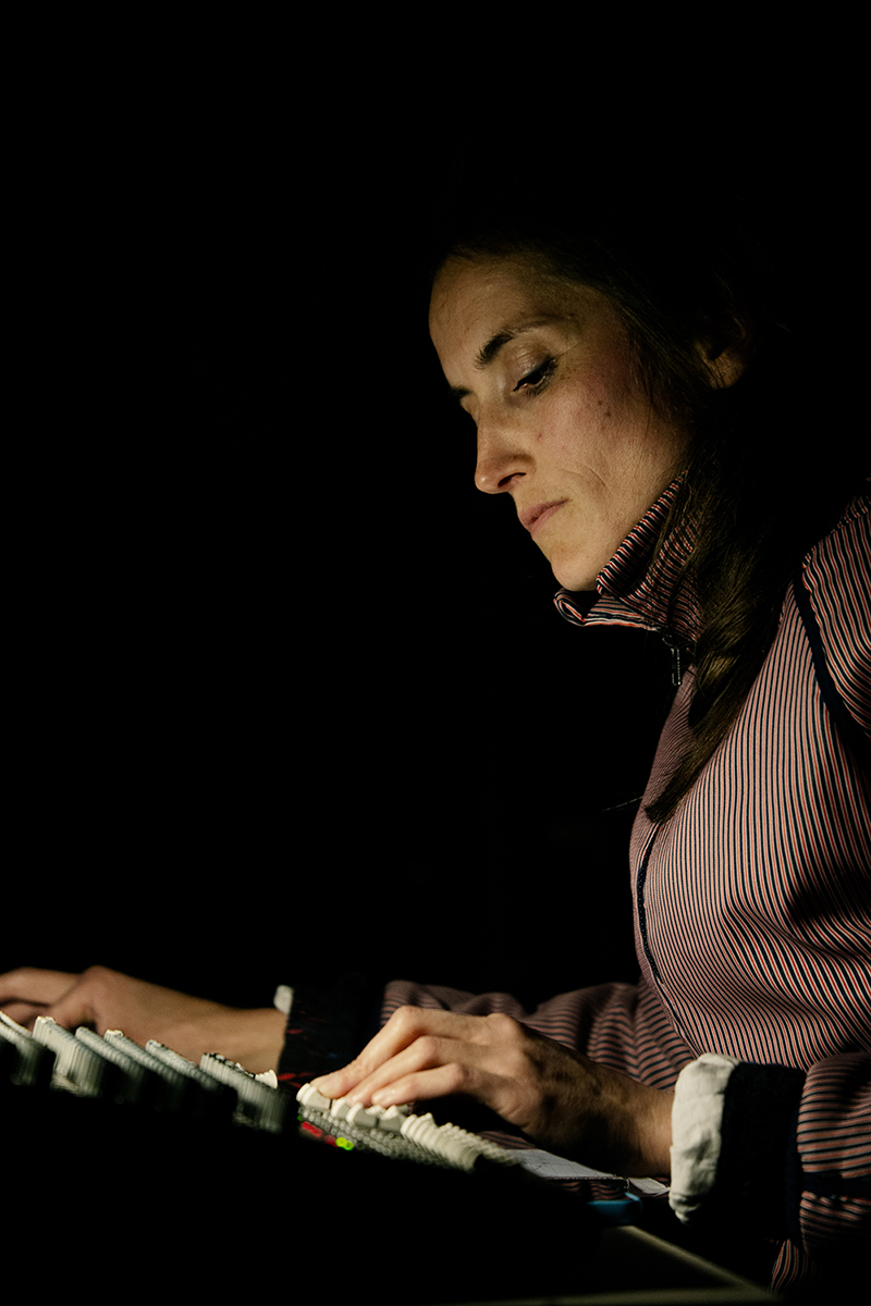 Caroline Profanter by Laurent Orseau - KRAAK - Sonic Treatise - Greylight Projects Chapel - Brussels, Belgium #6