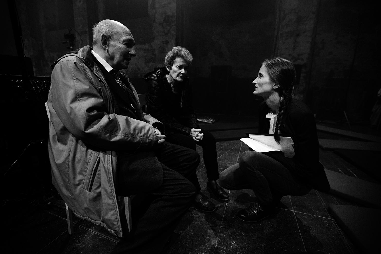 Octavian Nemescu & Caroline Profanter by Laurent Orseau - Europalia - Les Brigittines with Les Ateliers Claus - Brussels, Belgium #1