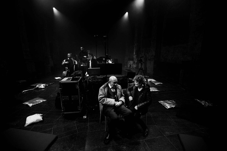 Octavian Nemescu & Caroline Profanter by Laurent Orseau - Europalia - Les Brigittines with Les Ateliers Claus - Brussels, Belgium #2