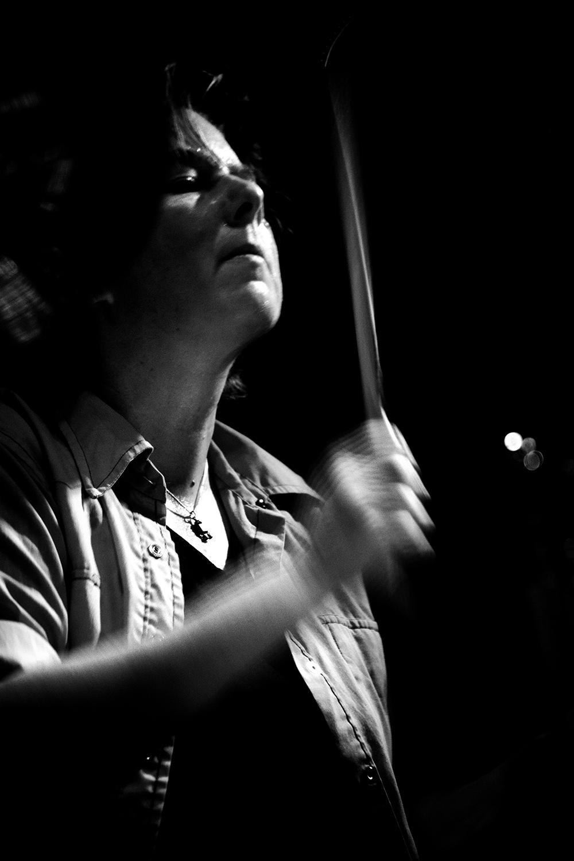 Caspar Brötzmann Massaker by Laurent Orseau - Concert - Les Ateliers Claus - Brussels, Belgium #7