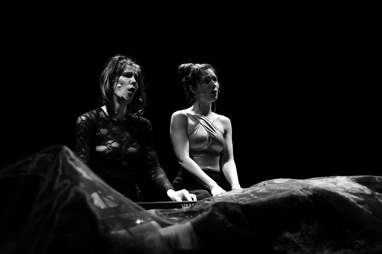 Catherine Hershey & Madeleine Fournier by Laurent Orseau - Les Ateliers Claus - Brussels, Belgium #11