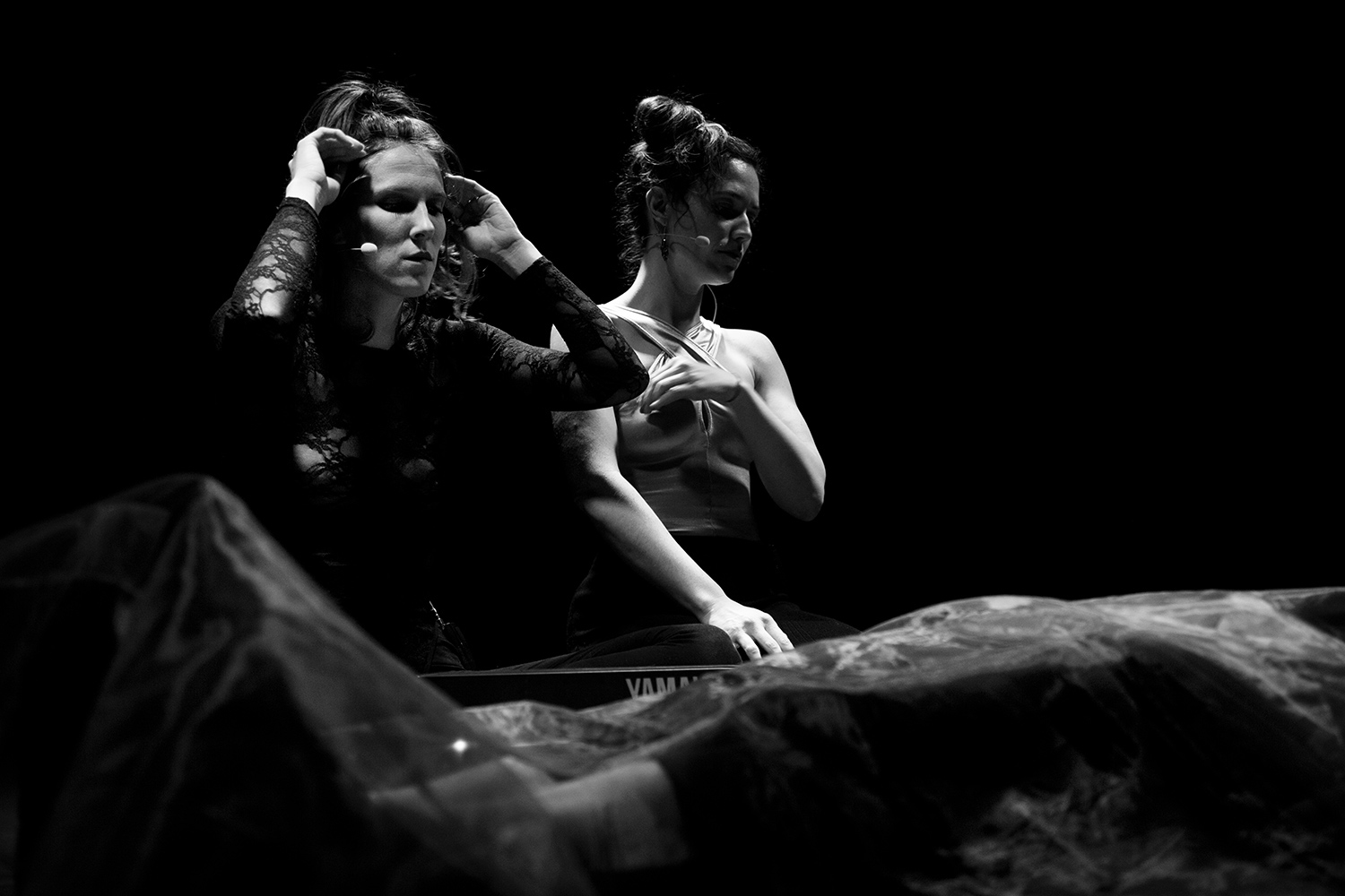 Catherine Hershey & Madeleine Fournier by Laurent Orseau - Les Ateliers Claus - Brussels, Belgium #12