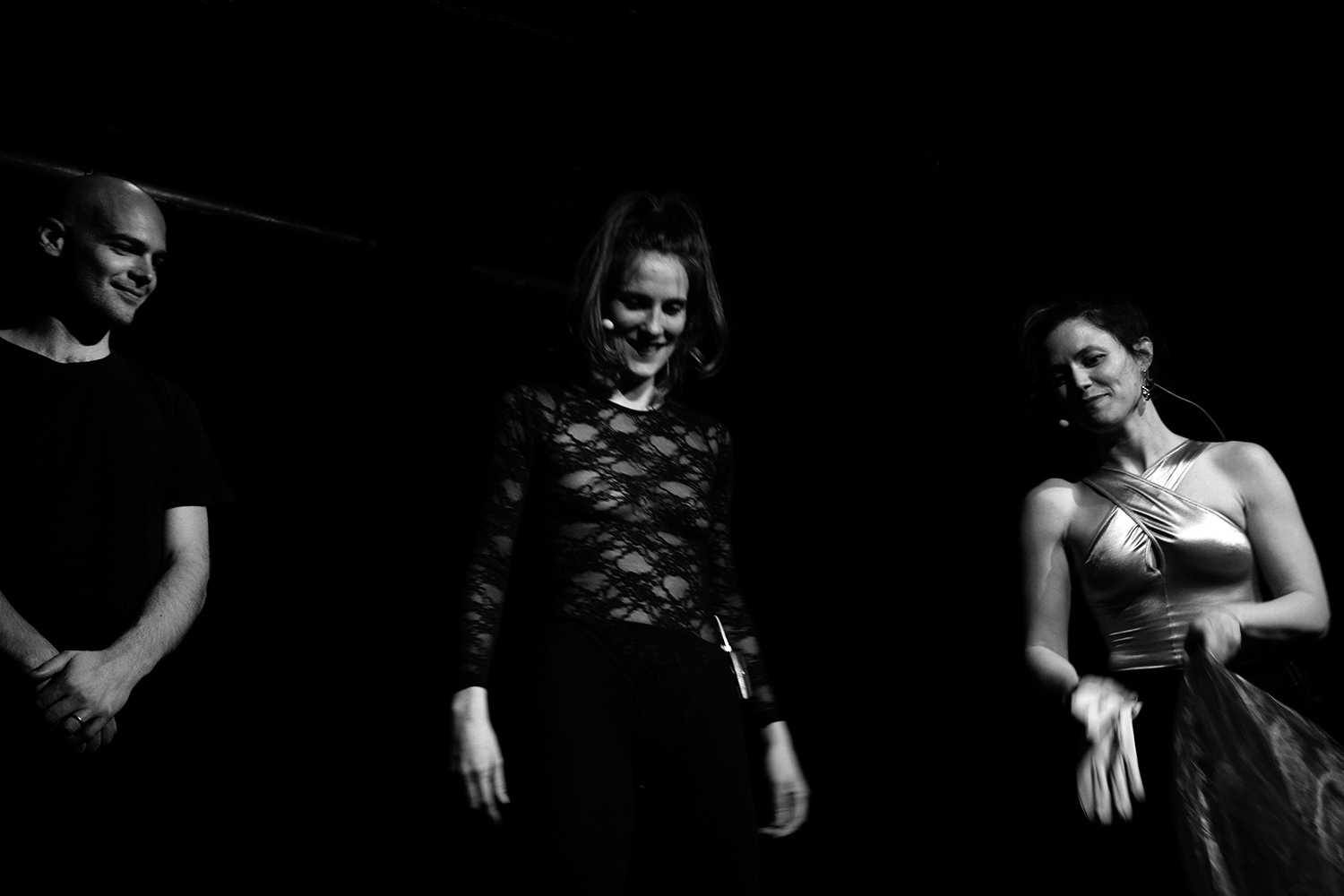 Catherine Hershey & Madeleine Fournier by Laurent Orseau - Les Ateliers Claus - Brussels, Belgium #14