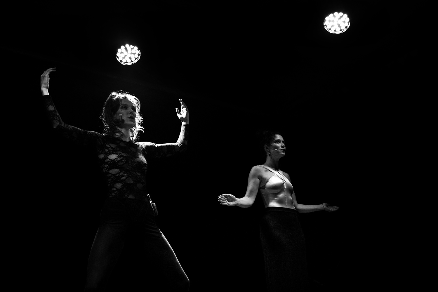 Catherine Hershey & Madeleine Fournier by Laurent Orseau - Les Ateliers Claus - Brussels, Belgium #7