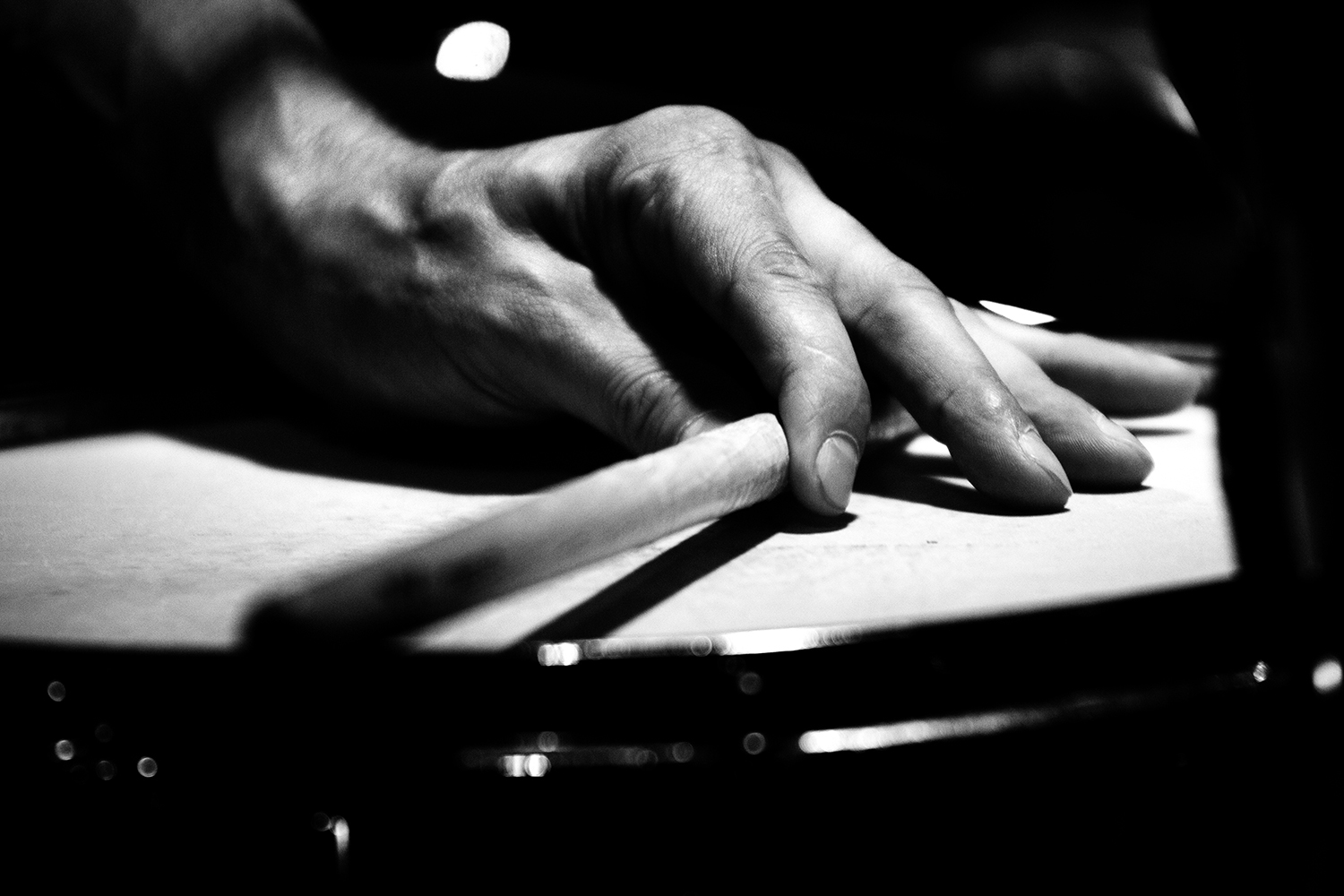 Ches Smith by Laurent Orseau - Concert - Les Ateliers Claus - Brussels, Belgium #13
