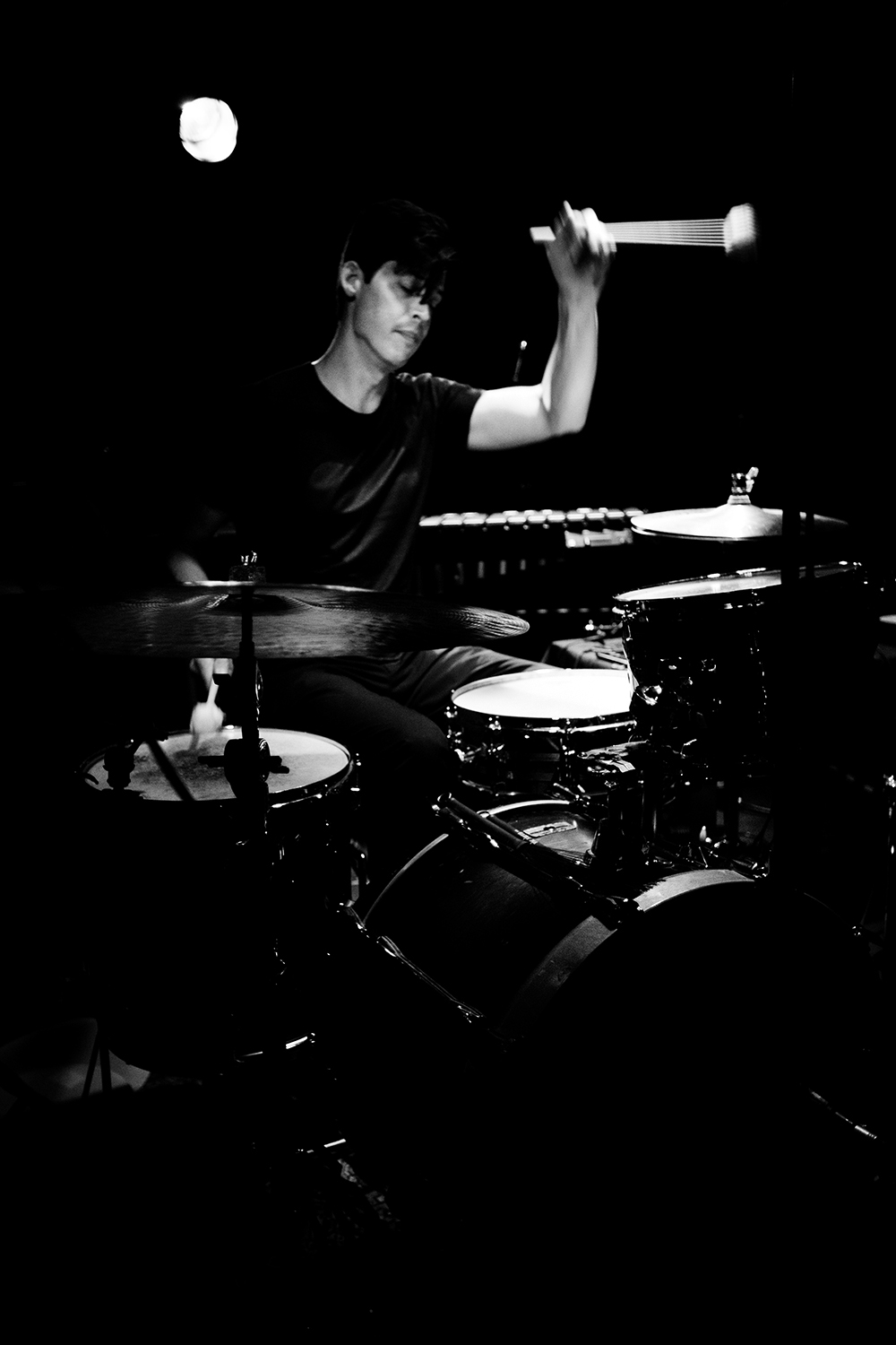 Ches Smith by Laurent Orseau - Concert - Les Ateliers Claus - Brussels, Belgium #2