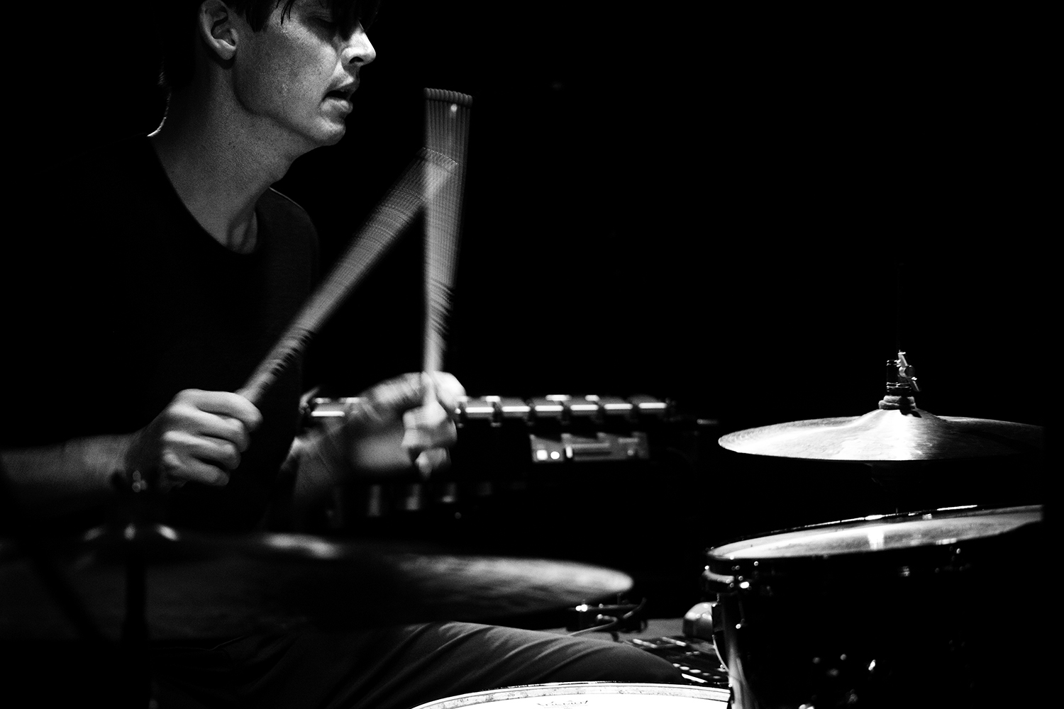 Ches Smith by Laurent Orseau - Concert - Les Ateliers Claus - Brussels, Belgium #4