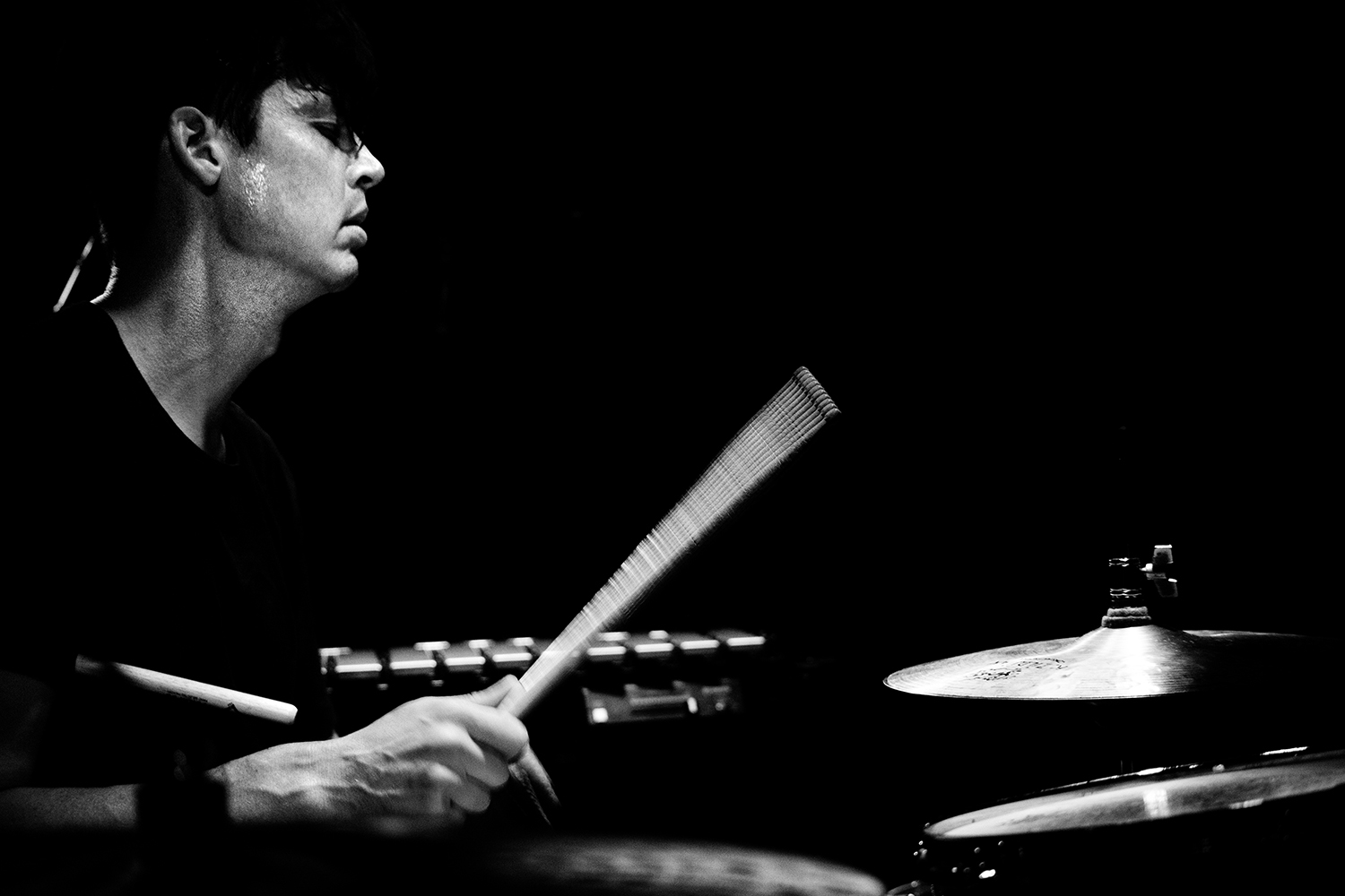 Ches Smith by Laurent Orseau - Concert - Les Ateliers Claus - Brussels, Belgium #5