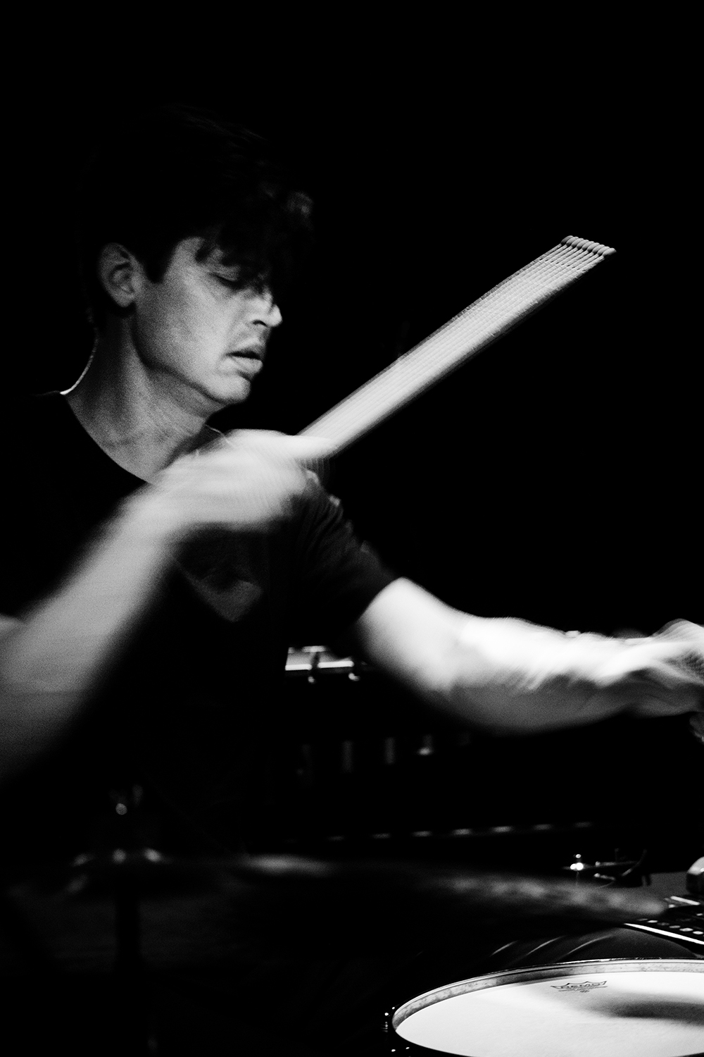 Ches Smith by Laurent Orseau - Concert - Les Ateliers Claus - Brussels, Belgium #6