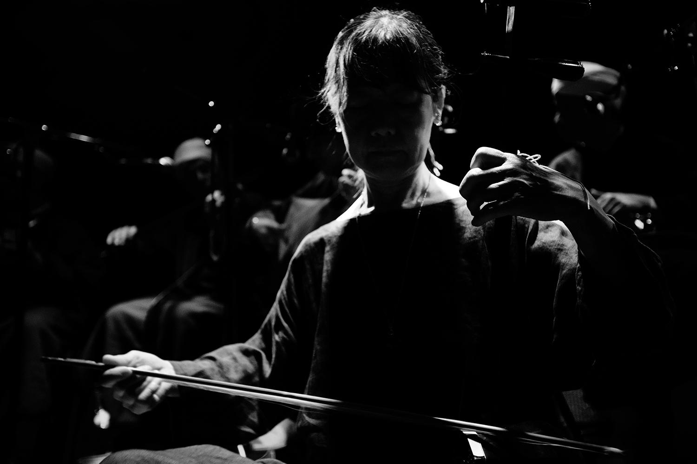 Chie Mukai by Laurent Orseau - Concert - Les Ateliers Claus - Brussels, Belgium #11