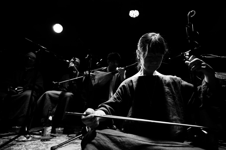 Chie Mukai by Laurent Orseau - Concert - Les Ateliers Claus - Brussels, Belgium #7