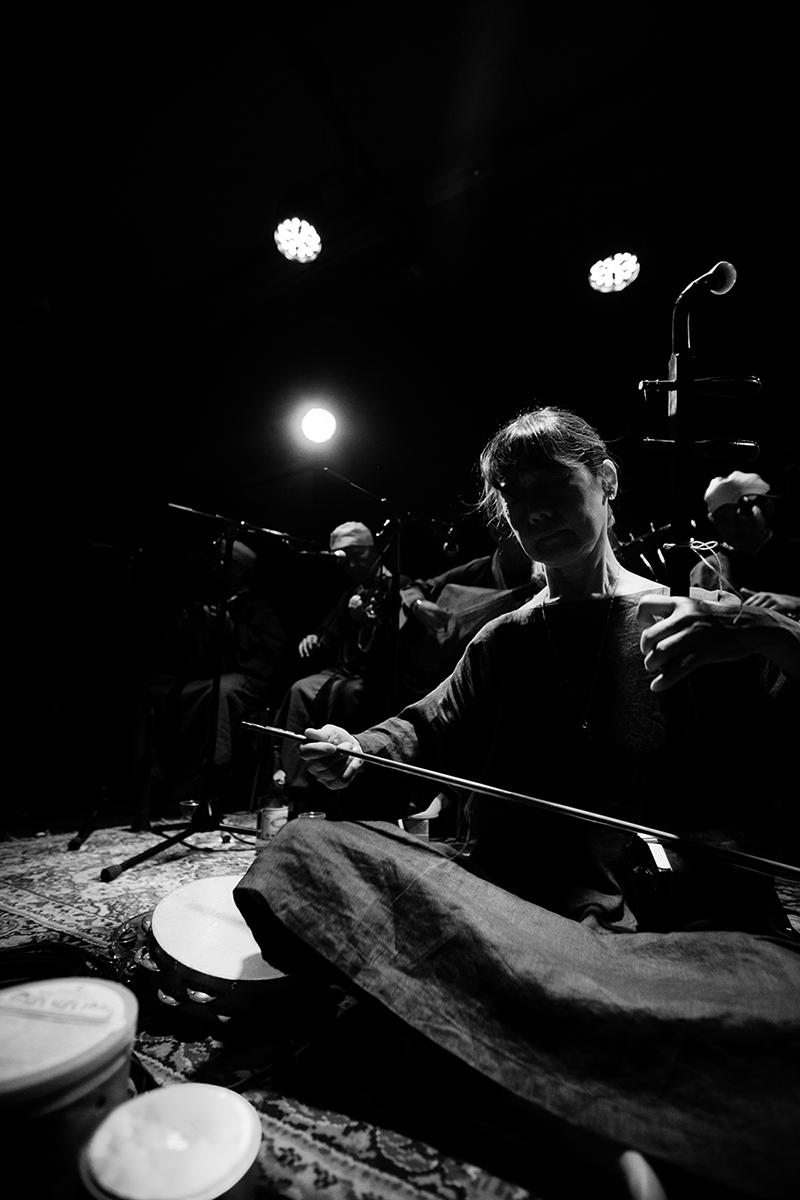 Chie Mukai by Laurent Orseau - Concert - Les Ateliers Claus - Brussels, Belgium #8