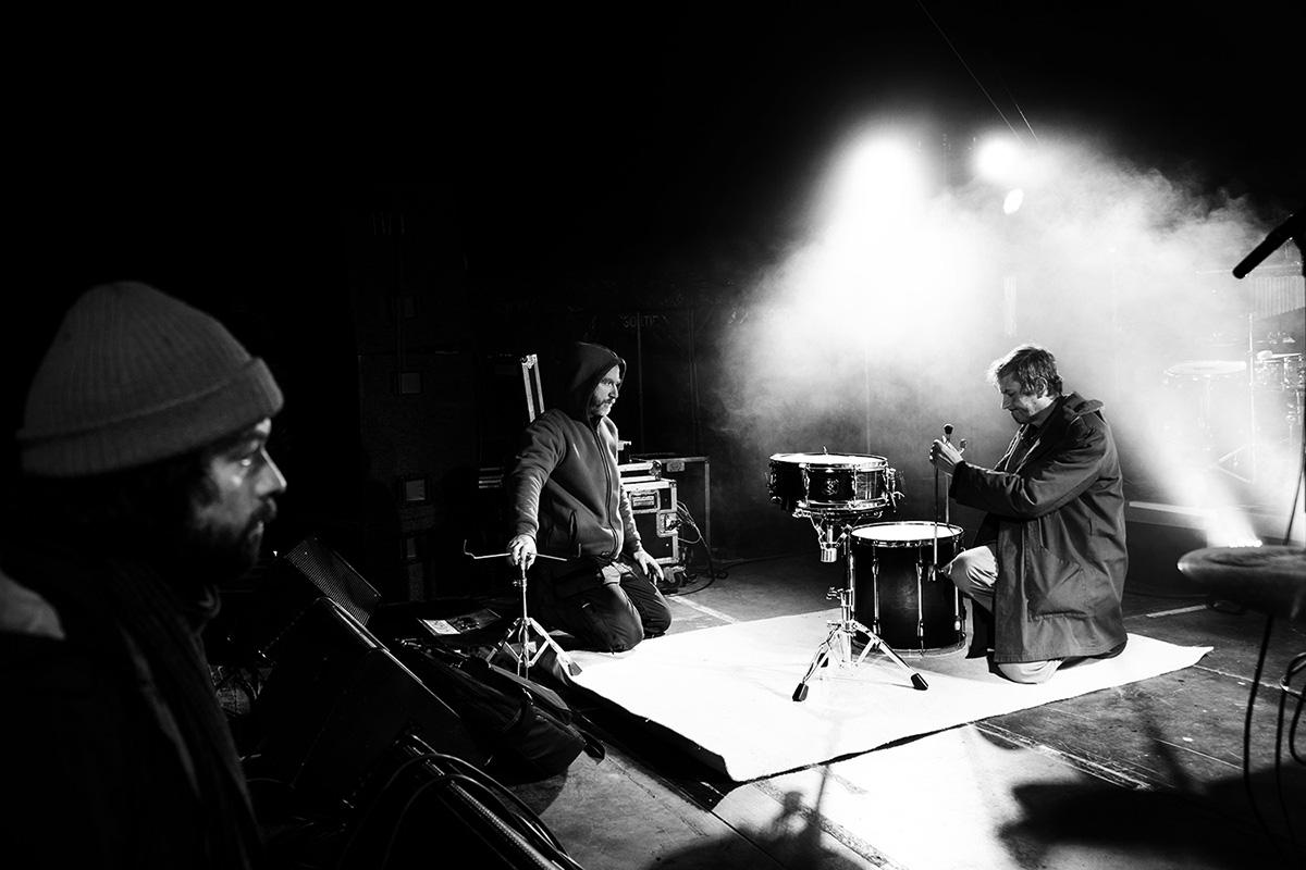 Chris Imler by Laurent Orseau - Soundcheck - Circus Claus - Les Ateliers Claus - Brussels, Belgium #4