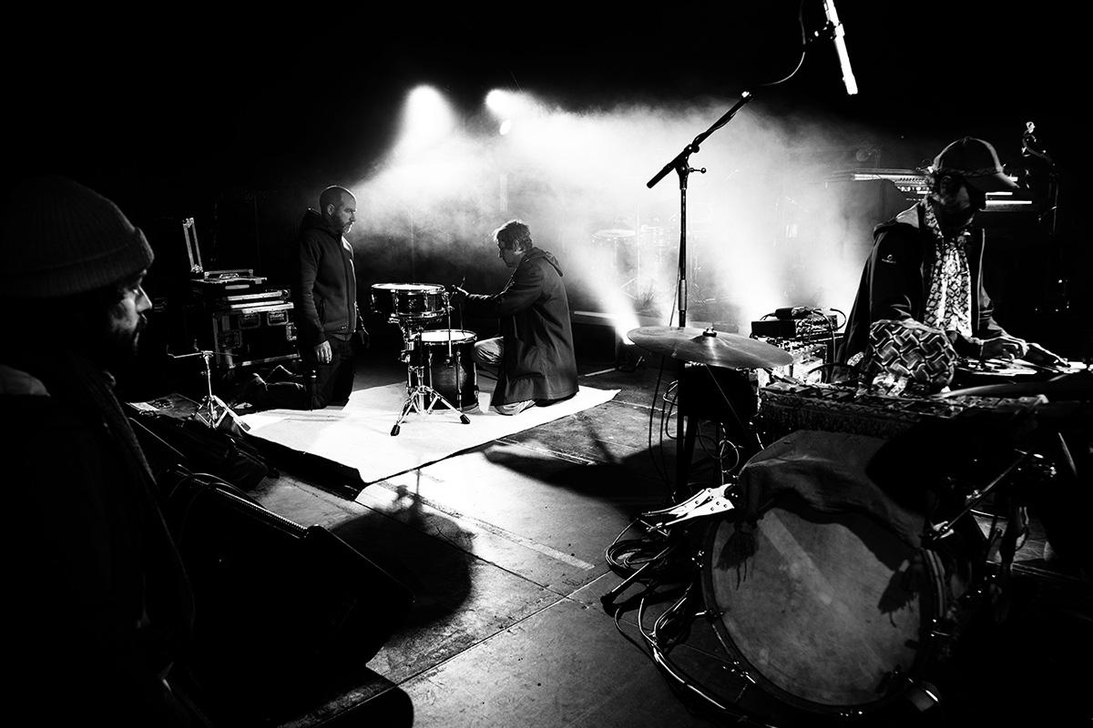 Chris Imler by Laurent Orseau - Soundcheck - Circus Claus - Les Ateliers Claus - Brussels, Belgium #5