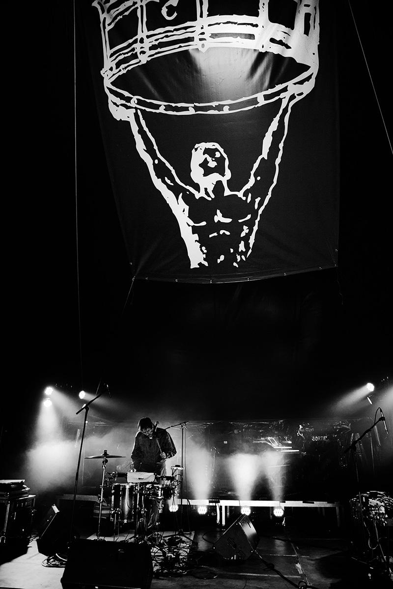 Chris Imler by Laurent Orseau - Soundcheck - Circus Claus - Les Ateliers Claus - Brussels, Belgium #6