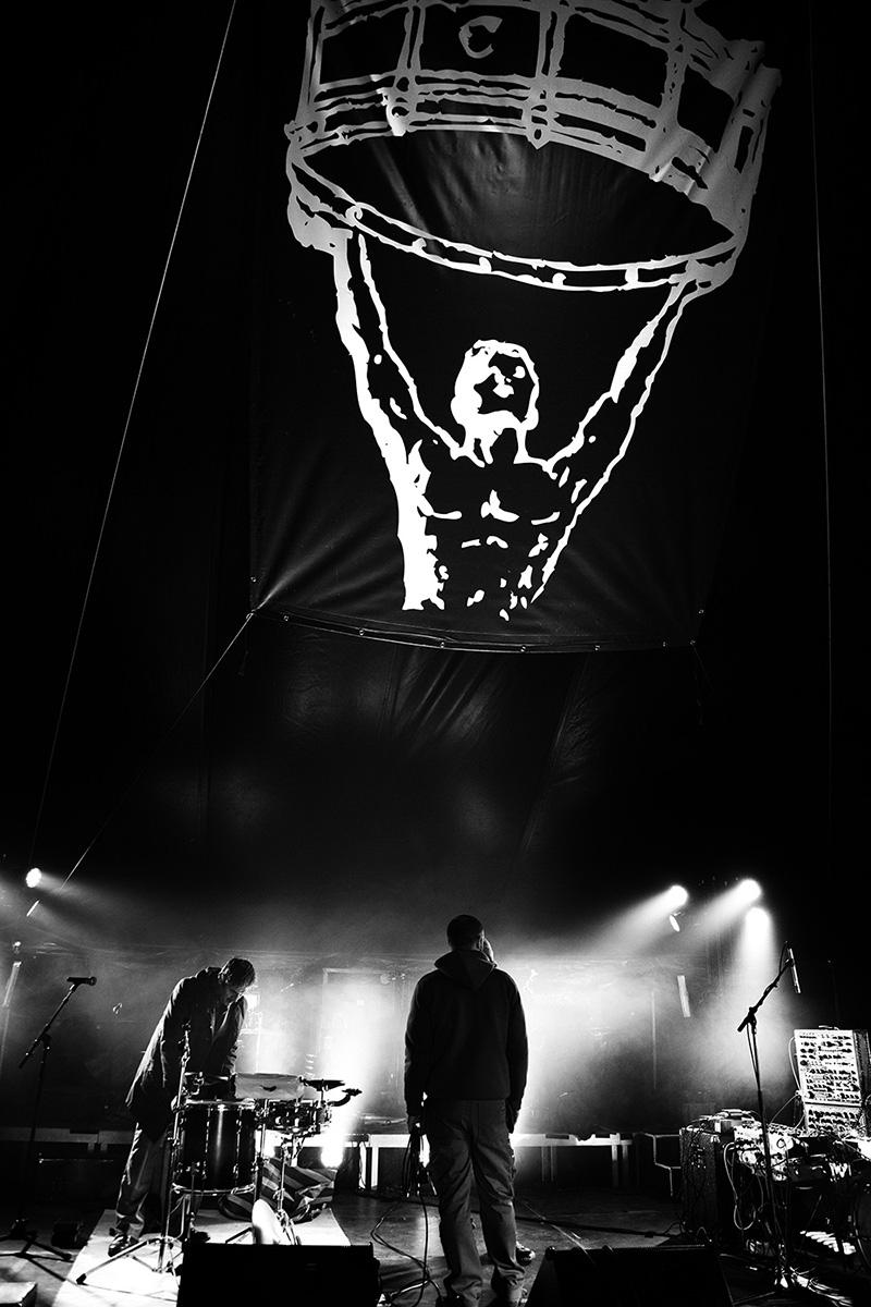Chris Imler by Laurent Orseau - Soundcheck - Circus Claus - Les Ateliers Claus - Brussels, Belgium #7