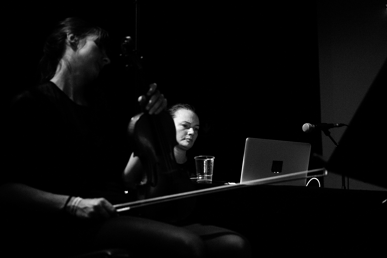 Christina Vantzou by Laurent Orseau - Meakusma Festival - Alter Schlachthof - Eupen, Belgium #3