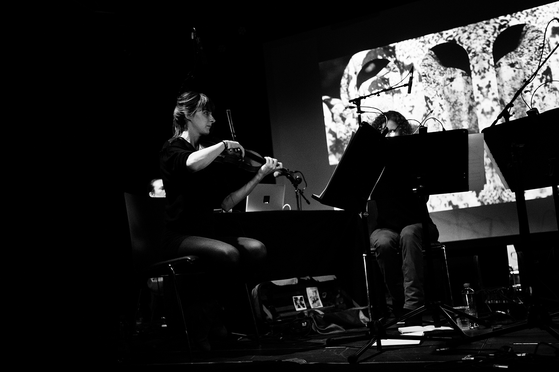 Christina Vantzou by Laurent Orseau - Meakusma Festival - Alter Schlachthof - Eupen, Belgium #4