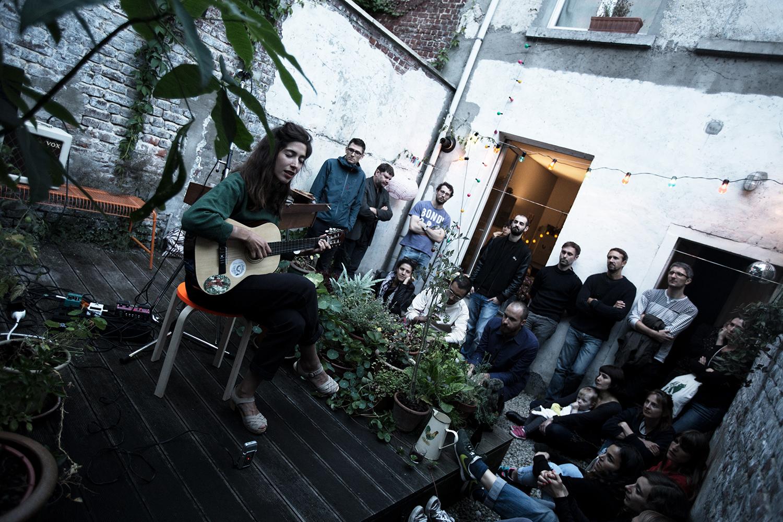 Clare Louise by Laurent Orseau - Musiques de cour - Brussels, Belgium #7