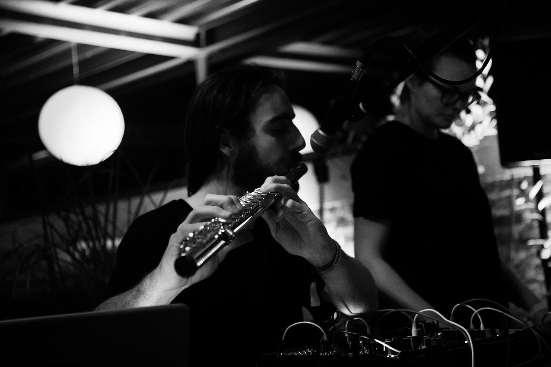 CV & JAB (Christina Vantzou & John Also Bennett) by Laurent Orseau - Meakusma Festival - Alter Schlachthof - Eupen, Belgium #4