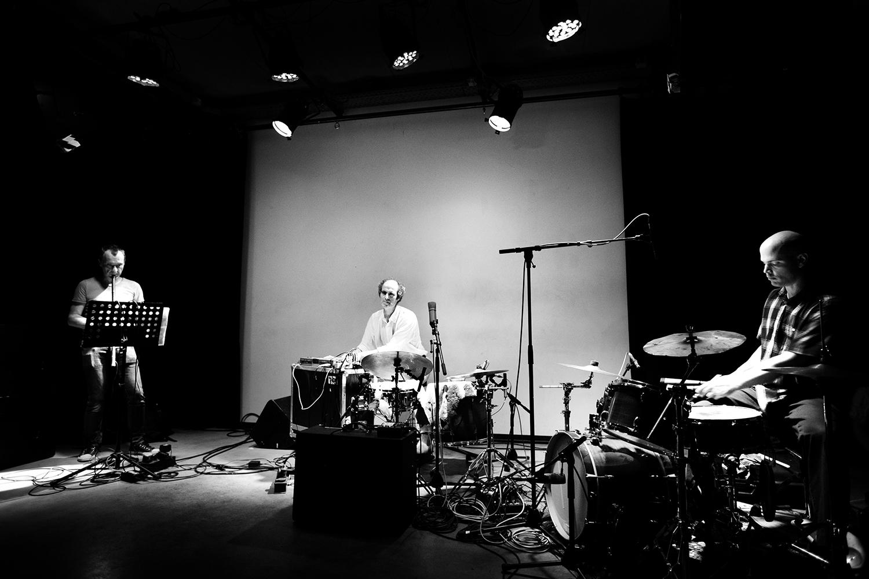 David Maranha & Chris Corsano & Richard Youngs by Laurent Orseau - Les Ateliers Claus - Brussels, Belgium #3