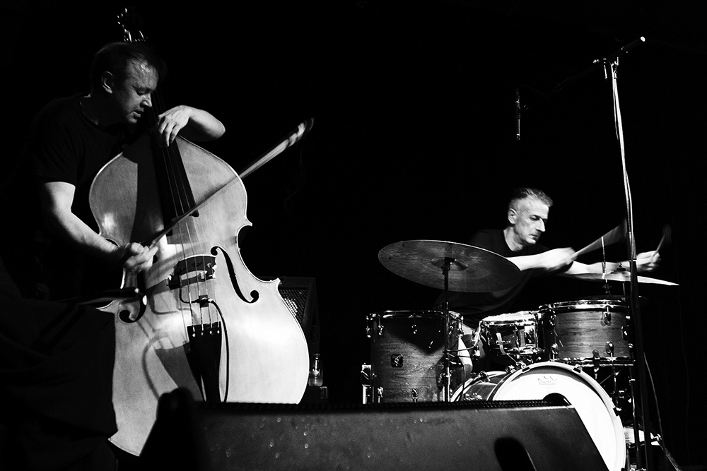Decoy Trio + Joe McPhee by Laurent Orseau - Les Ateliers Claus - Brussels, Belgium #1