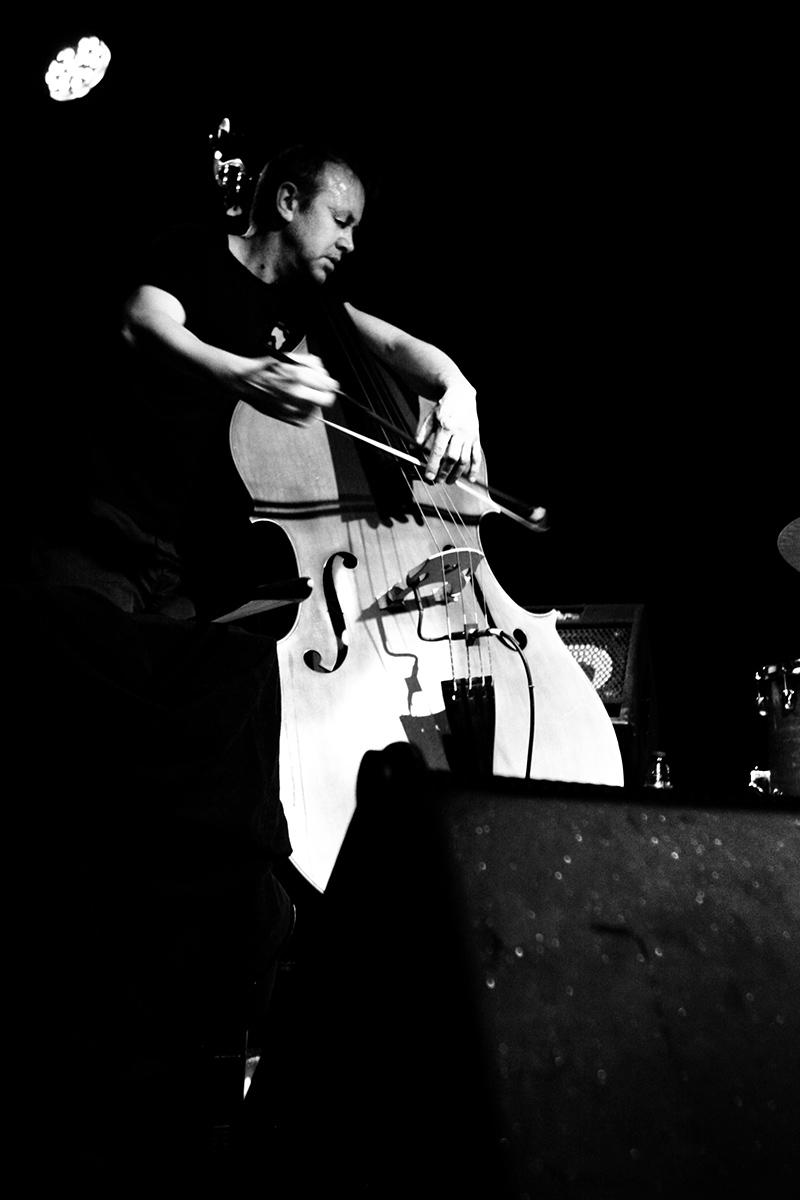 Decoy Trio + Joe McPhee by Laurent Orseau - Concert - Les Ateliers Claus - Brussels, Belgium #10