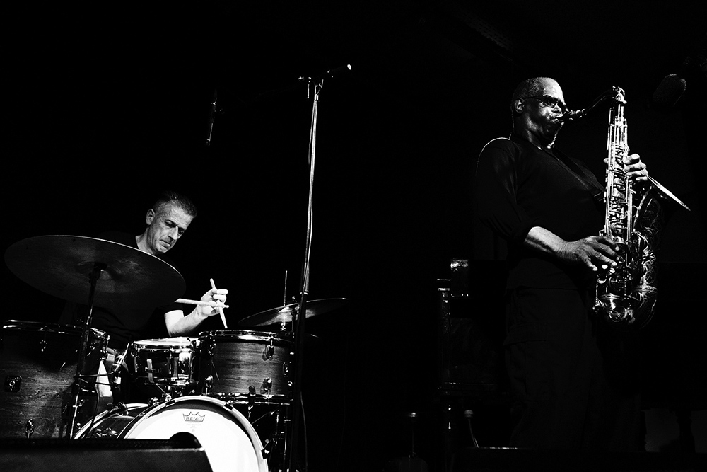 Decoy Trio + Joe McPhee by Laurent Orseau - Les Ateliers Claus - Brussels, Belgium #2