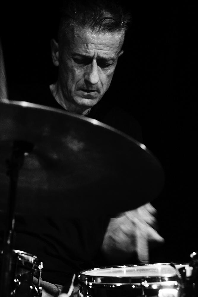 Decoy Trio + Joe McPhee by Laurent Orseau - Concert - Les Ateliers Claus - Brussels, Belgium #4