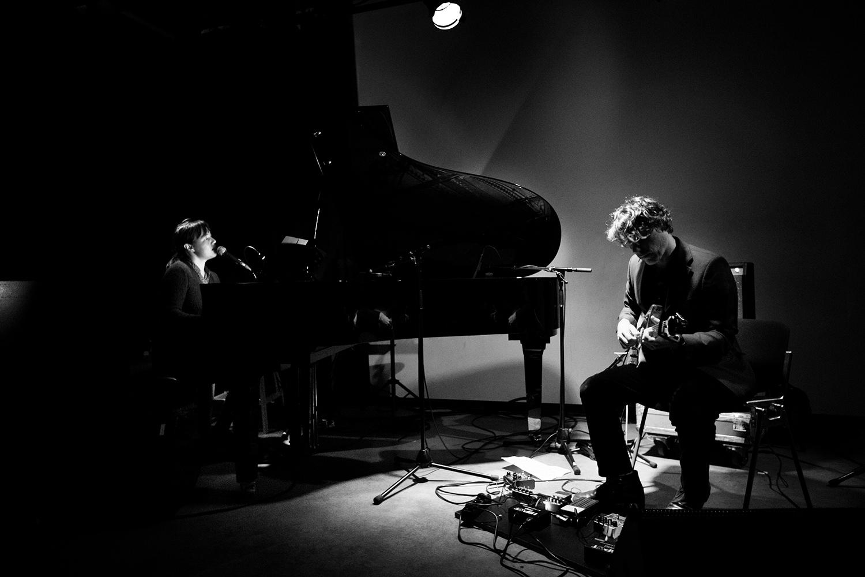 Delphine Dora & Mocke by Laurent Orseau - Concert - Les Ateliers Claus - Brussels, Belgium #3