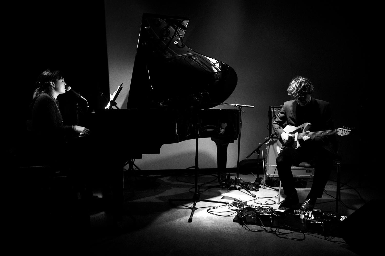 Delphine Dora & Mocke by Laurent Orseau - Concert - Les Ateliers Claus - Brussels, Belgium #4