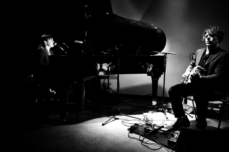 Delphine Dora & Mocke by Laurent Orseau - Concert - Les Ateliers Claus - Brussels, Belgium #5
