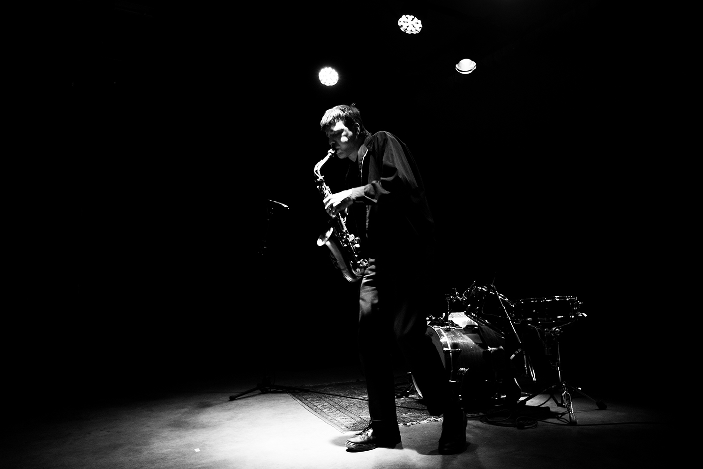Devin Brahja Waldman with Yoshiko Chuma - Concert - Les Ateliers Claus - Brussels, Belgium