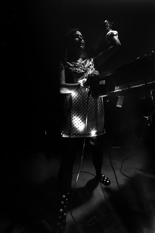 dj. flugvél og geimskip by Laurent Orseau - Concert - Les Ateliers Claus - Brussels, Belgium #9